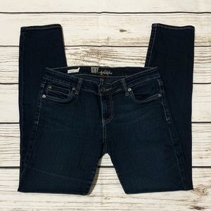 Kut from the Kloth Diana Skinny Blue Jeans Size 6